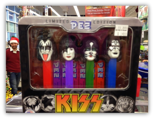 kiss dispenser